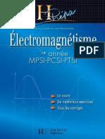 JM.brebec, T.desmarais, M.ménétrier, B.noel, R.noel, C.orsini Electromagnétisme HPrépa MPSI PCSI PTSI