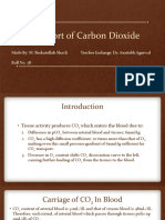 Transport of Carbon Dioxide