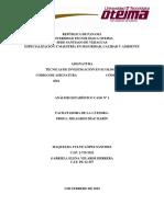 Tecnicas de Investigacion Ecologia Analisis Estadistico