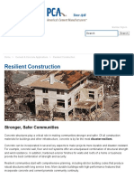 Resilient Construction