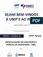 ABERTURA DE TURMA INBEC - UNIP - APE - FOR