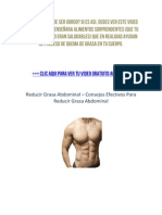 Reducir Grasa Abdominal – Consejos Efectivos Para Reducir Grasa Abdominal