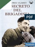 El Secreto Del Brigadista - Andreu Claret Serra