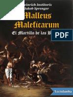 Malleus Maleficarum - Heinrich Institoris