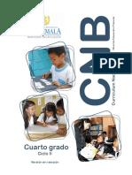 4o grado CNB Nivel de Educación Primaria