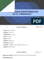 TRASTORNOS HIPERTENSIVOS DEL EMBARAZO UNA MIRADA ACTUAL - SESION CLINICA.pptx