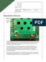 MACINTOSH CLASSIC REPAIR