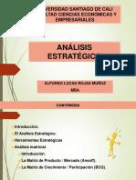 ANÁLISIS ESTRATÉGICO BCG - ANSOFF