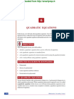 Qudratic-Equations