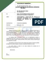 Informe de Contrato de Multiservicio