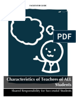 Characteristics-Facilitator-Activity