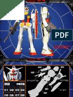 Paper Model - Robot - Gundam RX78