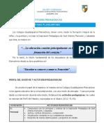 Perfil del docente plancartino y actitudes pedagodicas 2014