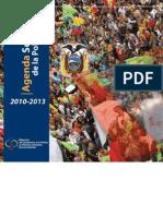 Agenda Sectorial Política