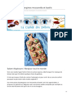 lacasbahdesdelices.com-Mini pizzas daubergines mozzarella et basilic