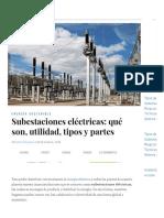 Subestaciones eléctricas_ qué son, utilidad, tipos y partes