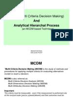 4a - MCDM (AHP)