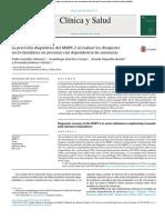 2017 Precisión diagnóstica en adictos del MMPI-2