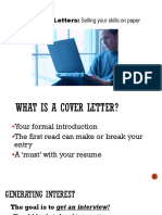 Best Lecture for Cover Letter