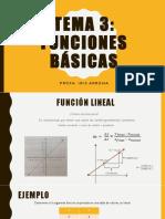 3. Fundamentos Matematicos - Funciones Basicas