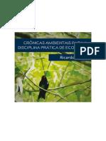 Livro Crônicas Ambientais_Ricardo Braga