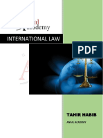 Expected or Important Questions of International Law  CSS by Tahir