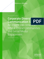 Roxana D. Maiorescu-Murphy - Corporate Diversity Communication Strategy_ An Insight Into American MNCs' Online Communities And Social Media Engagement-Palgrave Macmillan (2020)