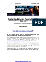 Instant Addiction Formula