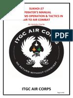 DCS-Su27 Operator's Manual.