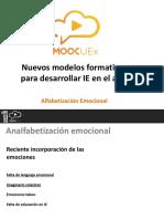 M2. V3. Alfabetización Emocional
