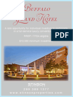Buffalo Grand Hotel summary jan 2020