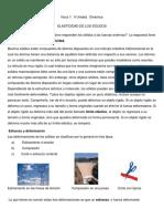 ELASTICIDAD DE SOLIDOS  FISICA 1