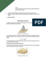 metodos Analiticos de estudio de movimientos planos