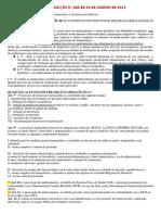 RESOLUÇÃO Nº 586 DE 29 DE AGOSTO DE 2013-RESUMO