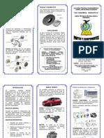 TRIPTICO PARTES DEL AUTOMOVIL