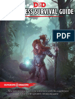 Wildnerness survival guide