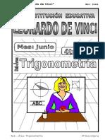 JUNIO – TRIGONOMETRÍA - 4TO