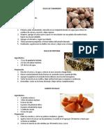10 recetas dulces tipicos guatemala