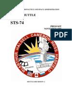 STS-74 Press Kit