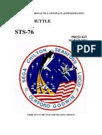STS-76 Press Kit