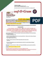 Woof-O-Gram & Scratchings April 2020