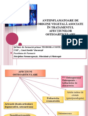model de inflamatie articulara)