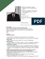 Professor de Lingüística e Língua Portuguesa em cursos de graduação em Letras
