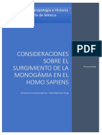 Consideraciones sobre el surgimiento de la monogámia en el Homo sapiens.docx