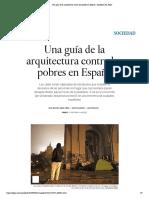 Una guía de la arquitectura contra los pobres en España _ Sociedad _ EL PAÍS