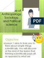 Introduction to Understanding culture, society and politics