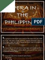 Philippine opera