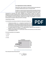 Diseño e Implementación de Antenas de Microlínea
