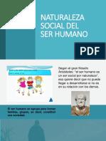 Naturaleza social del ser humano