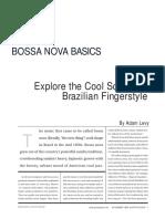 Guitar Techniques - Bossa Nova Basics.pdf